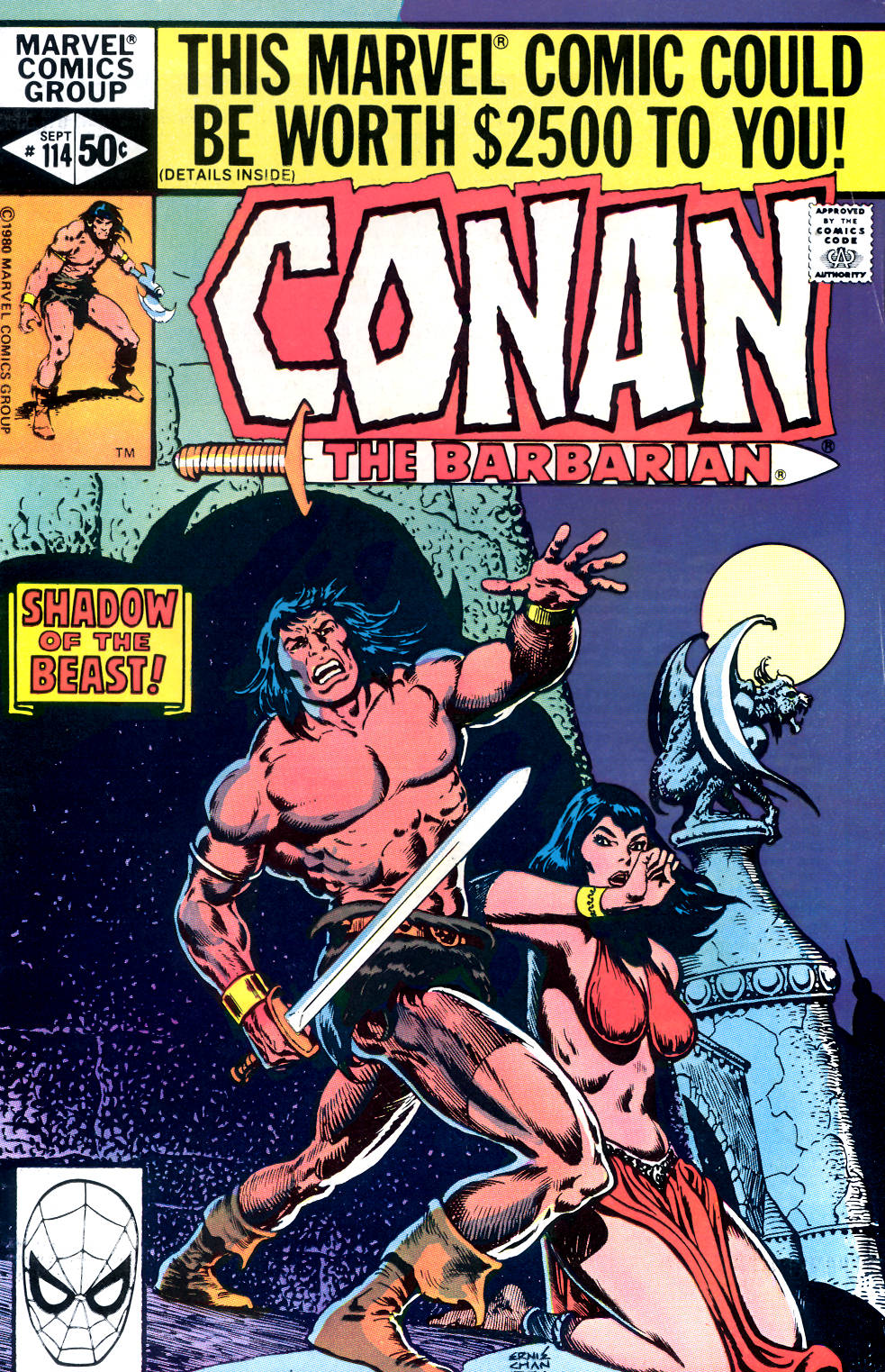 Conan the Barbarian (1970) Issue #114 #126 - English 1