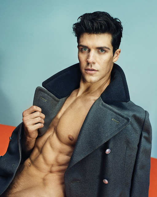 Roberto Bolle by Marc Hom