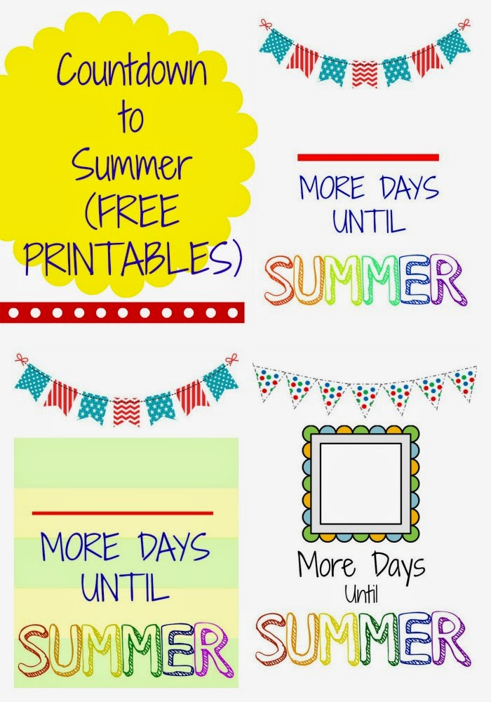 countdown to summer free printables the chirping moms