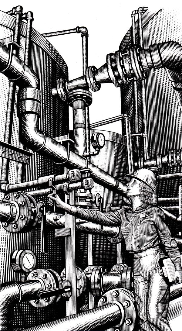 ©Douglas Smith - Men at Work | Ilustración | Illustration