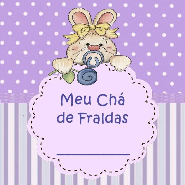 Maria Carlotinha Ateliê: Chá de Fraldas completinho: Lilás para ...