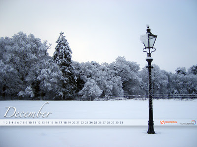 Desktop Wallpaper Calendar : December 2011 (Smashing Magazine)