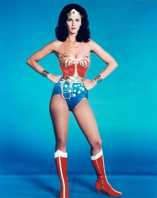 Wonder Woman Lynda Carter Nude Scantily Clad