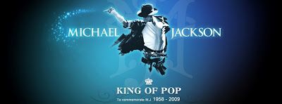 Facebook Cover Of King Of Pop Michael Jackson.