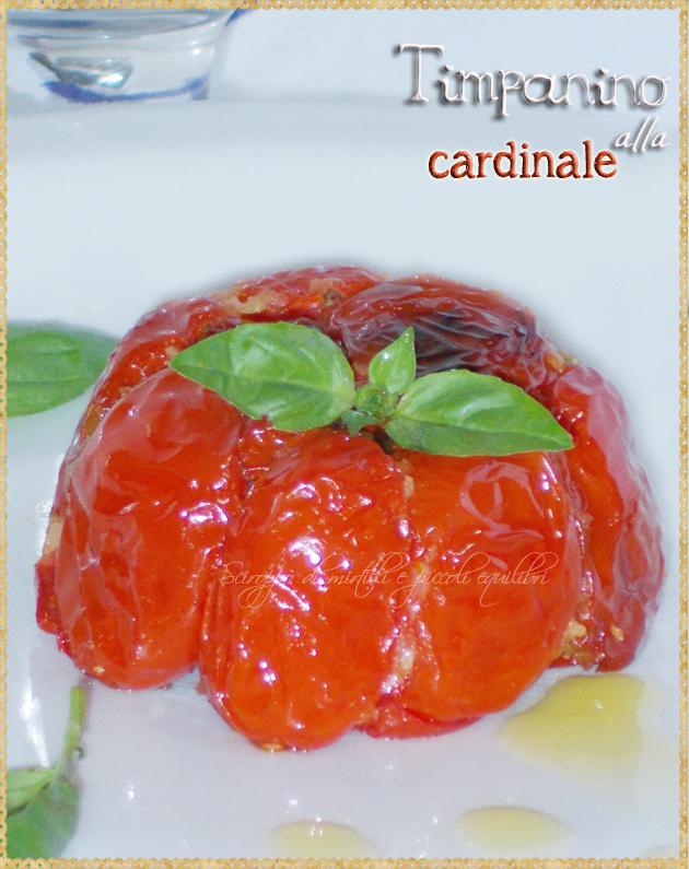 Guscio di pomodori con pasta tipico napoletano