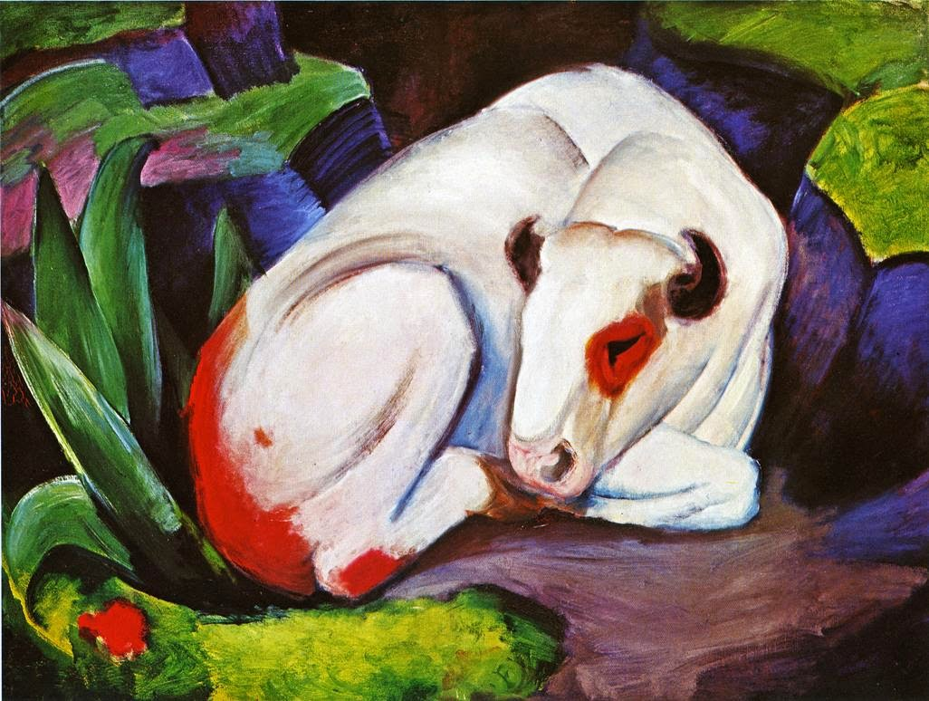 The Steer, Franz Marc (1911)