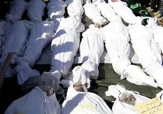 قناة الجزيرة الفضائية، 95 قتيل برصاص قوات بشار الأسد اليوم 2/9/2012