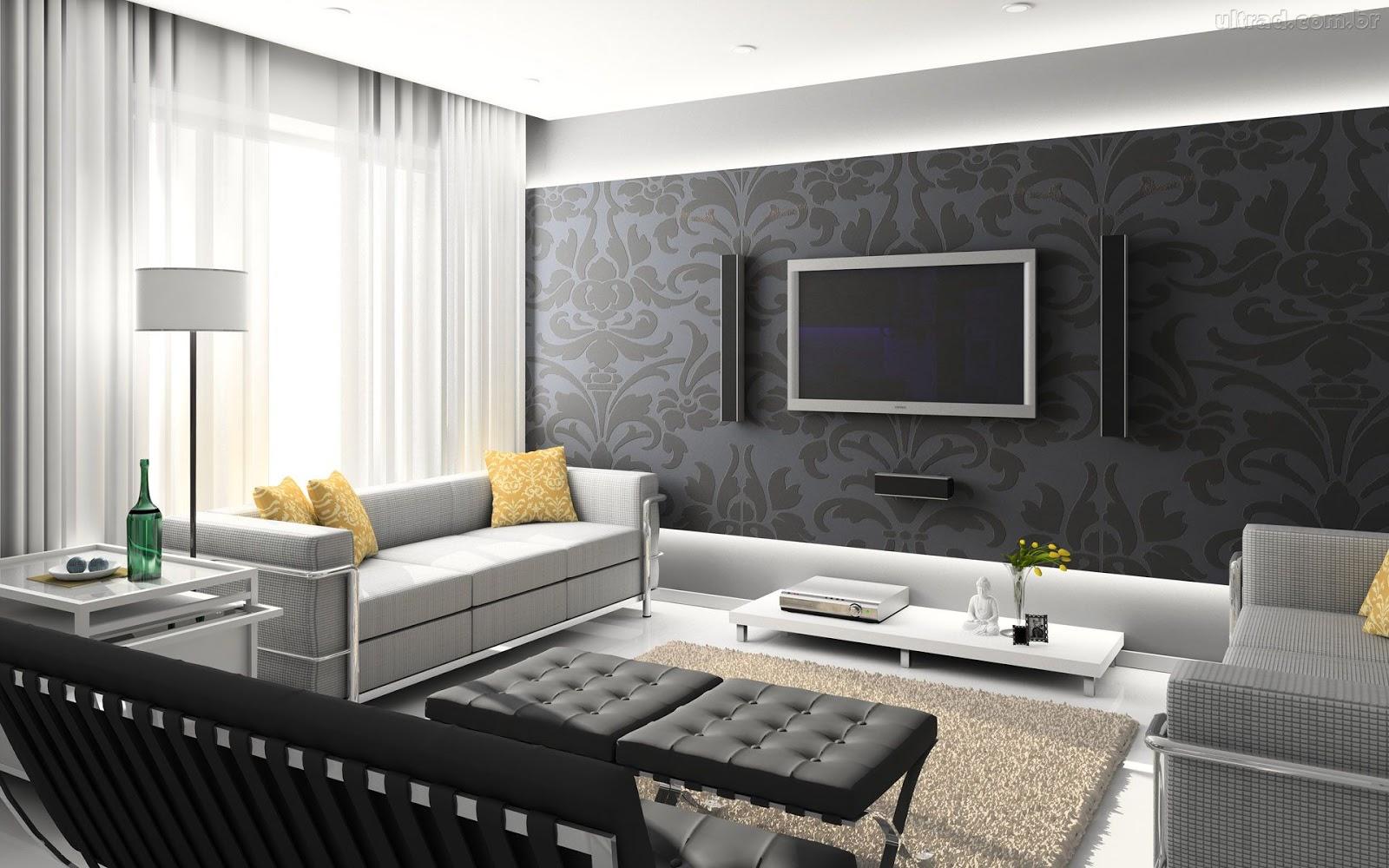 papel de parede decoracao de interiores:Luana Moraes: PAPEL DE PAREDE NA DECORAÇÃO DE INTERIORES