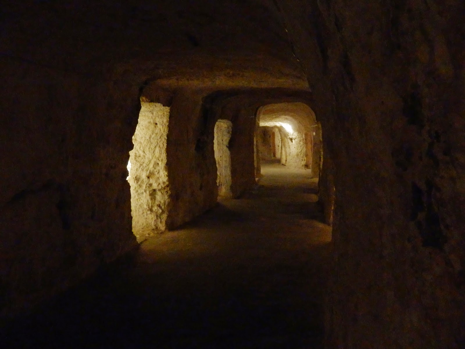 Underground World War 2 shelters in Rabat, Malta