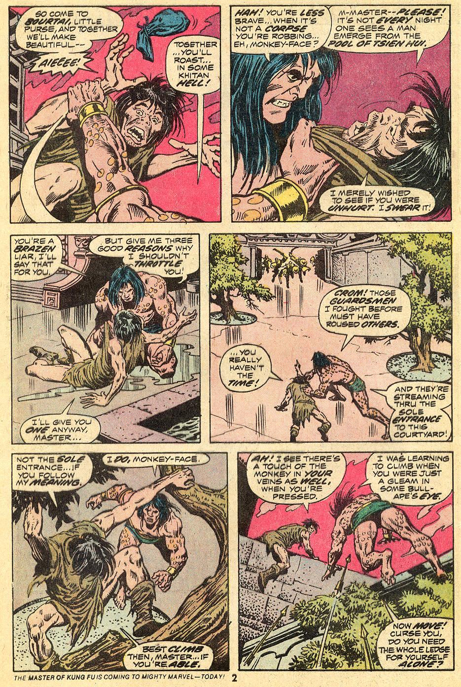 Conan the Barbarian (1970) Issue #33 #45 - English 3