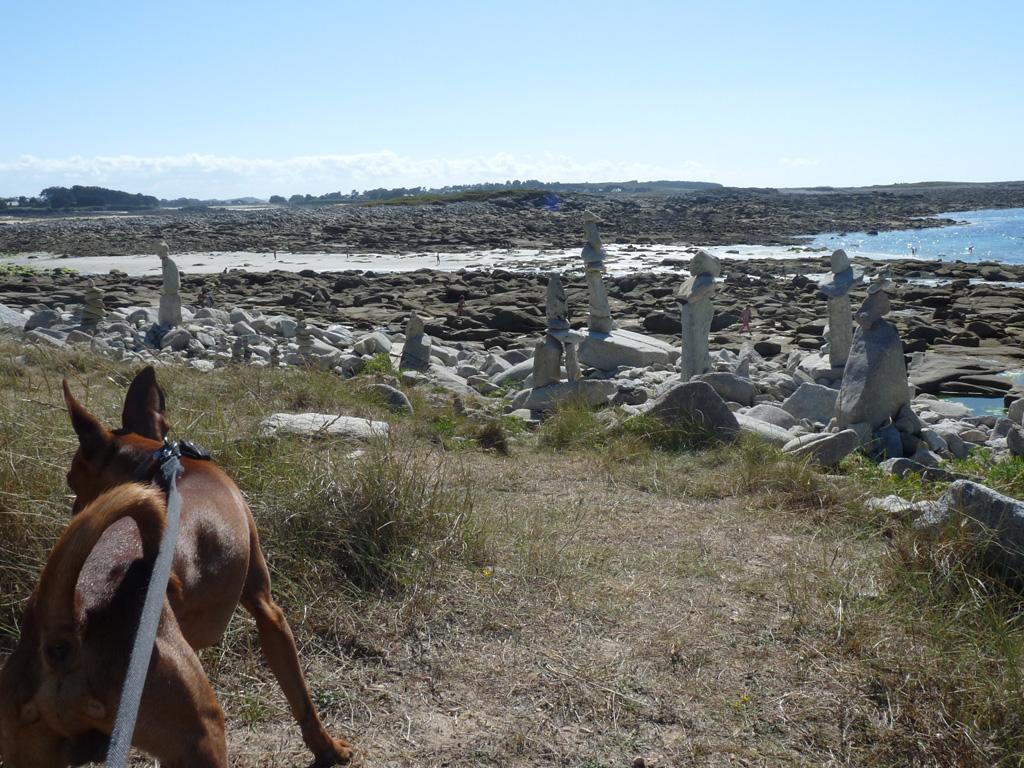 ブルターニュ ランドルレック半島  GR34 ハイキング