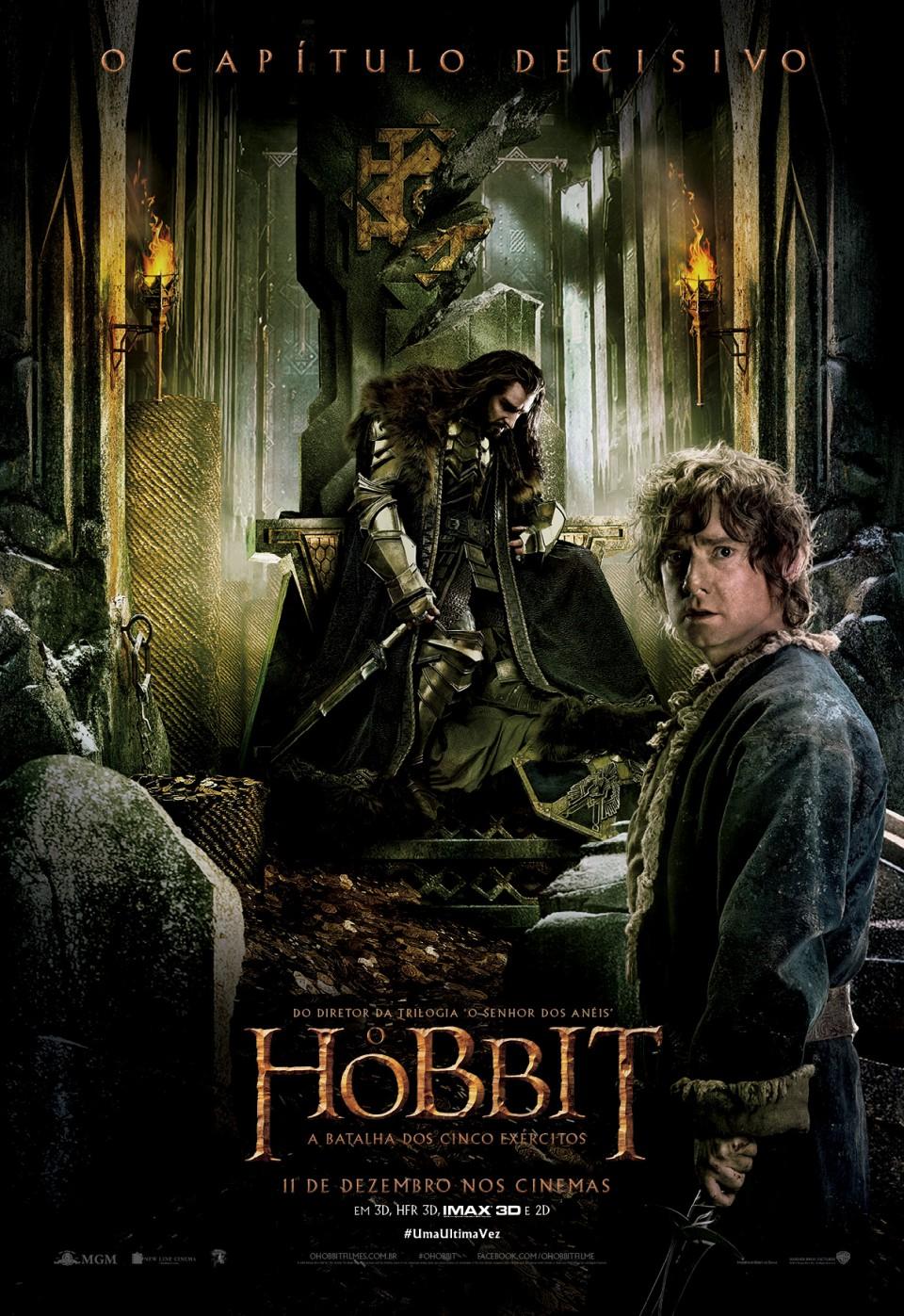 O Hobbit: A Batalha dos Cinco Exércitos – Dublado