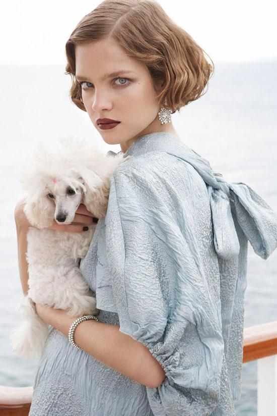 via fashionedbylove | fashion editorials | Natalia Vodianova in Vogue US July 2007 (photography: Mario Testino, styling: Tonne Goodman)