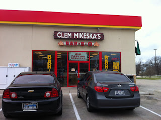 Clem Mikeska Bar-B-Q BBQ Barbecue Barbeque Cameron Texas