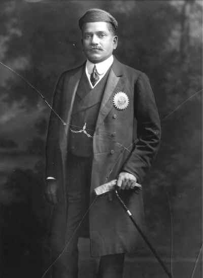Maharaja of Baroda Sir Sayajirao III Gaekwad in Western Dress - 1910.jpg