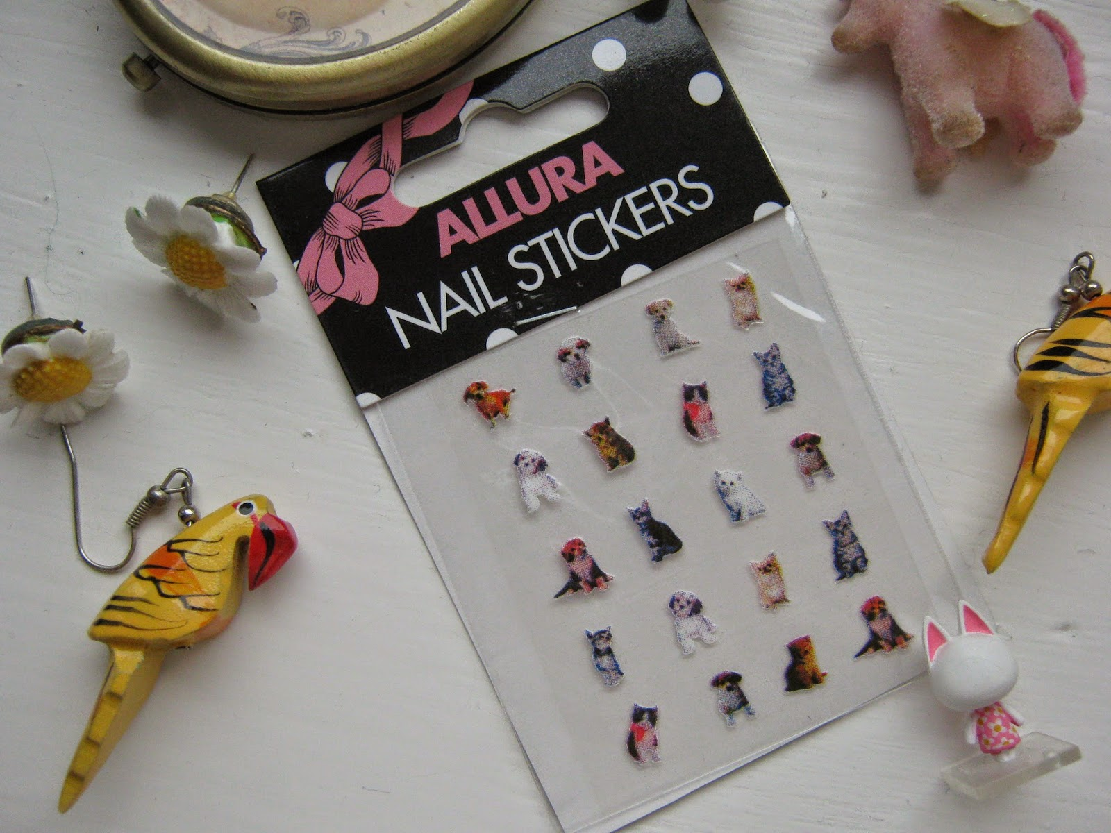 Kitten and Puppy Nail Stickers