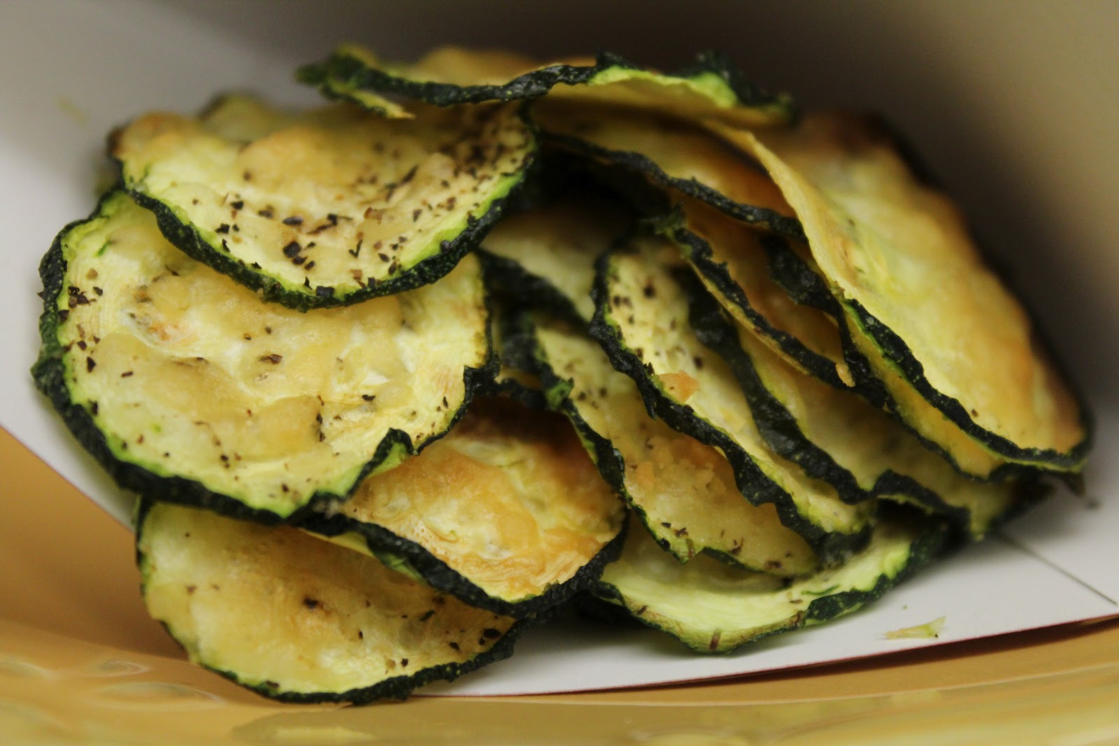 Parmesan Zucchini Chips - Food I Make My Soldier