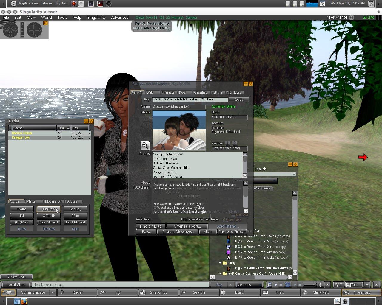 Windows for Second Life « Firestorm Viewer – The Phoenix