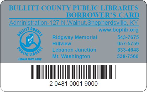 GOT A FREE LIBRARY CARD?