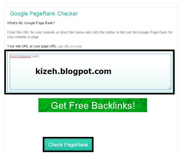 Cara mengecek google pagerank blog dengan mudah