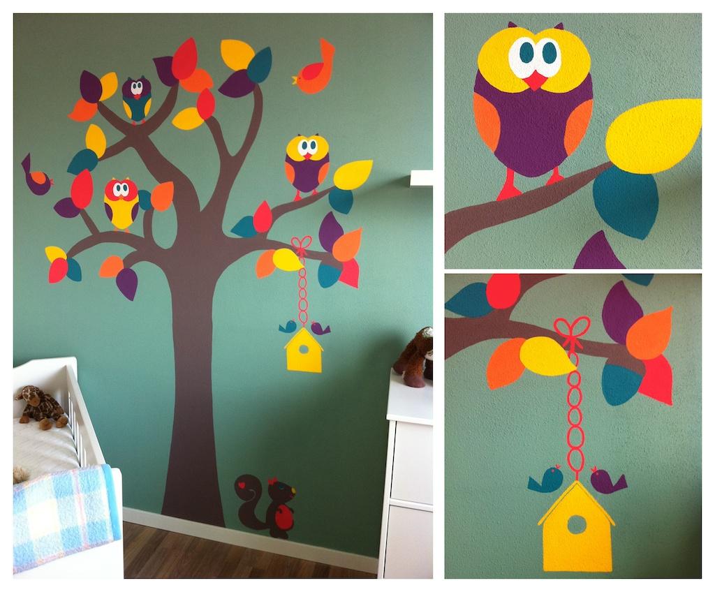 Babykamer Schilderen Ideeën : Fruit ... daar word ik altijd zooo blij ...