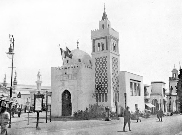 Expo 1910 Brussels - Tunisian pavilion.