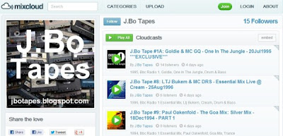 J.Bo Tapes on Mixcloud.com