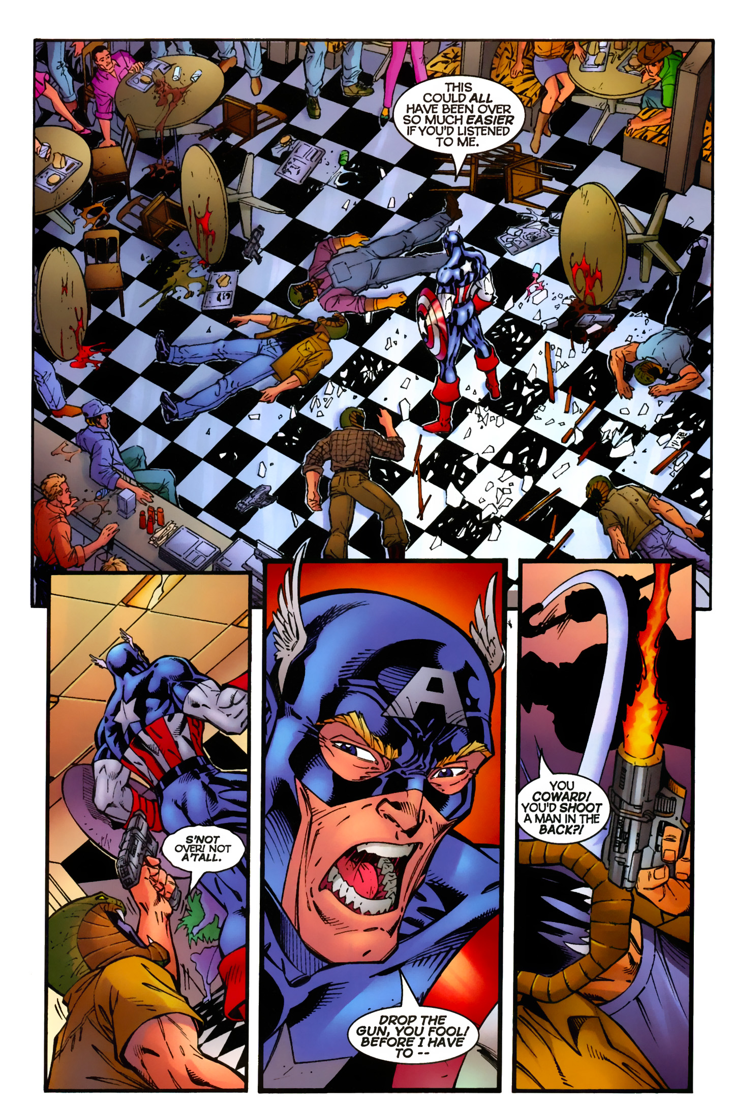 Captain America (1996) Issue #8 #8 - English 12