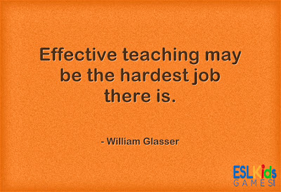 ESL Teaching Quotes, Teacher quotes