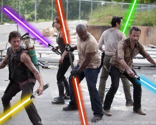 Star Wars se ha colado en The Walking Dead