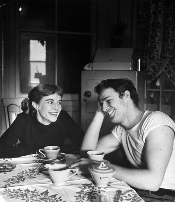 marlon brando and his sister