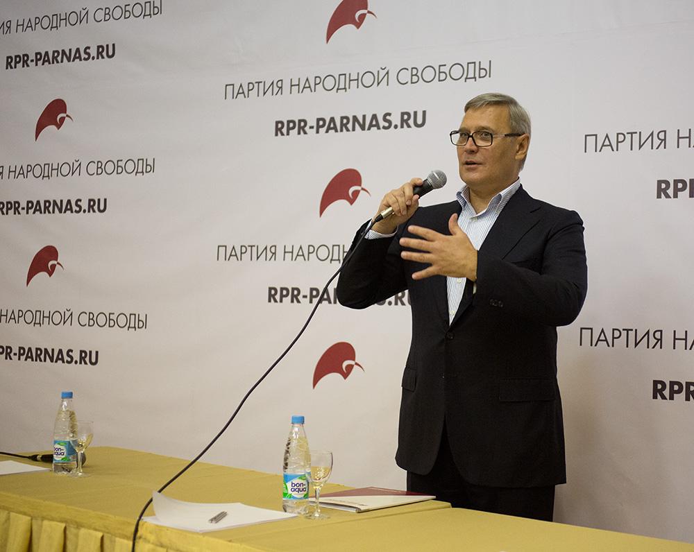 Михаил Касьянов объединяет либералов