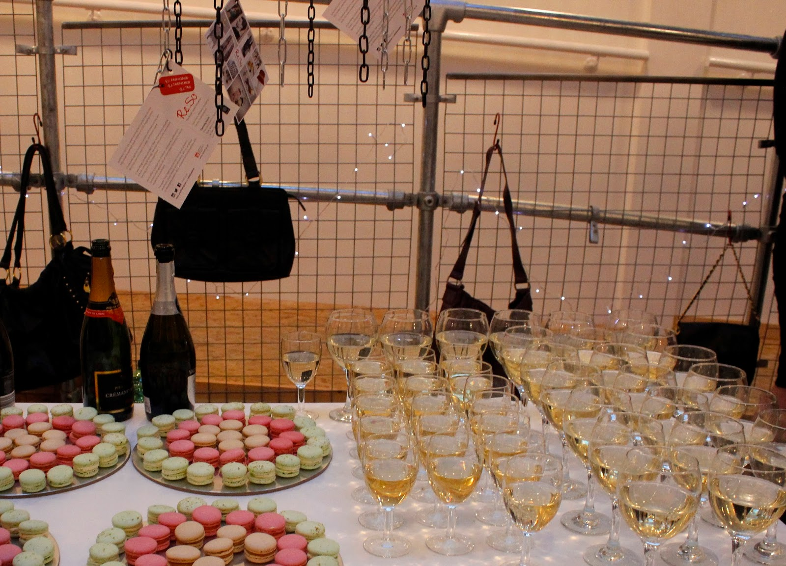Re:So Southampton Launch - Prosecco, macaroons