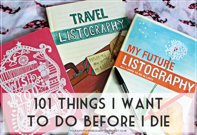 things i want to do before i die essay Before i die, i want  i'm currently working on thirty things i want to do before i turn 30 in 2016, i've already started composing a list of things i want to.