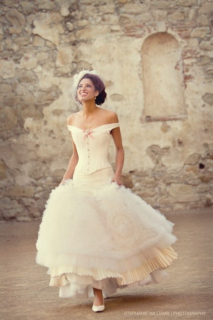 Joan Shum wedding dress