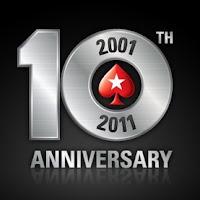 10º aniversario pokerstars