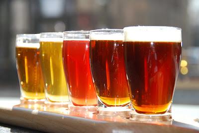 Glasses full of Beer