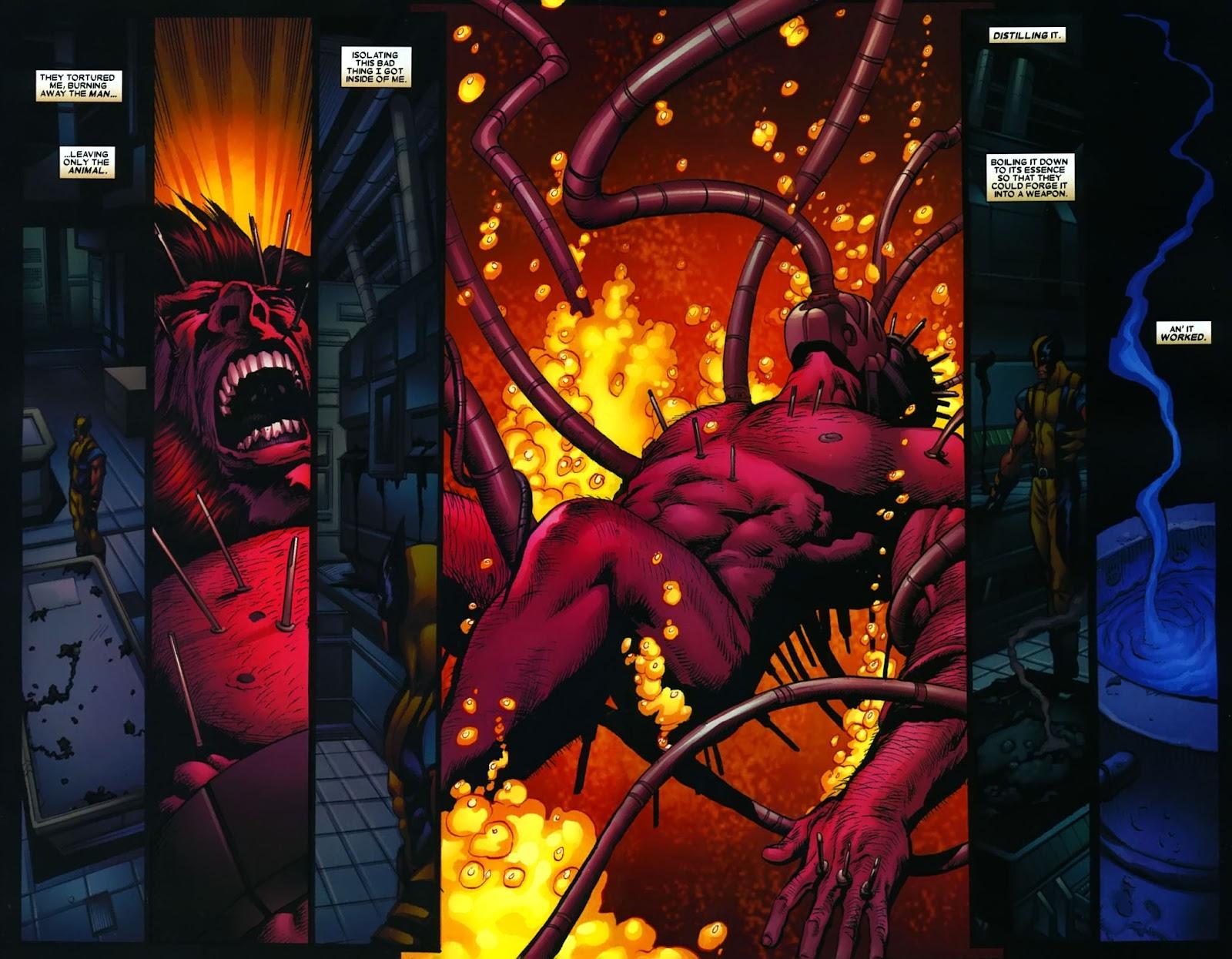 Read online Wolverine (2003) comic -  Issue #38 - 11