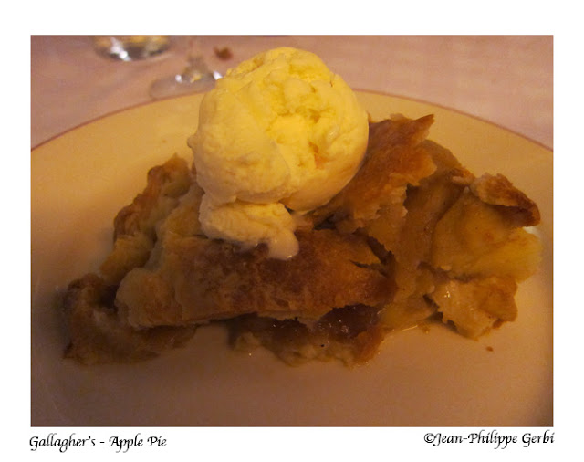 Image of Apple pie at Gallagher's Steakhouse in NYC, New York