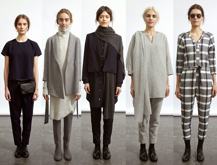 Steven Alan fall winter 2014 collection, NYFW, fashion week, look book