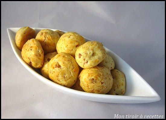 gougeres jambon fromage