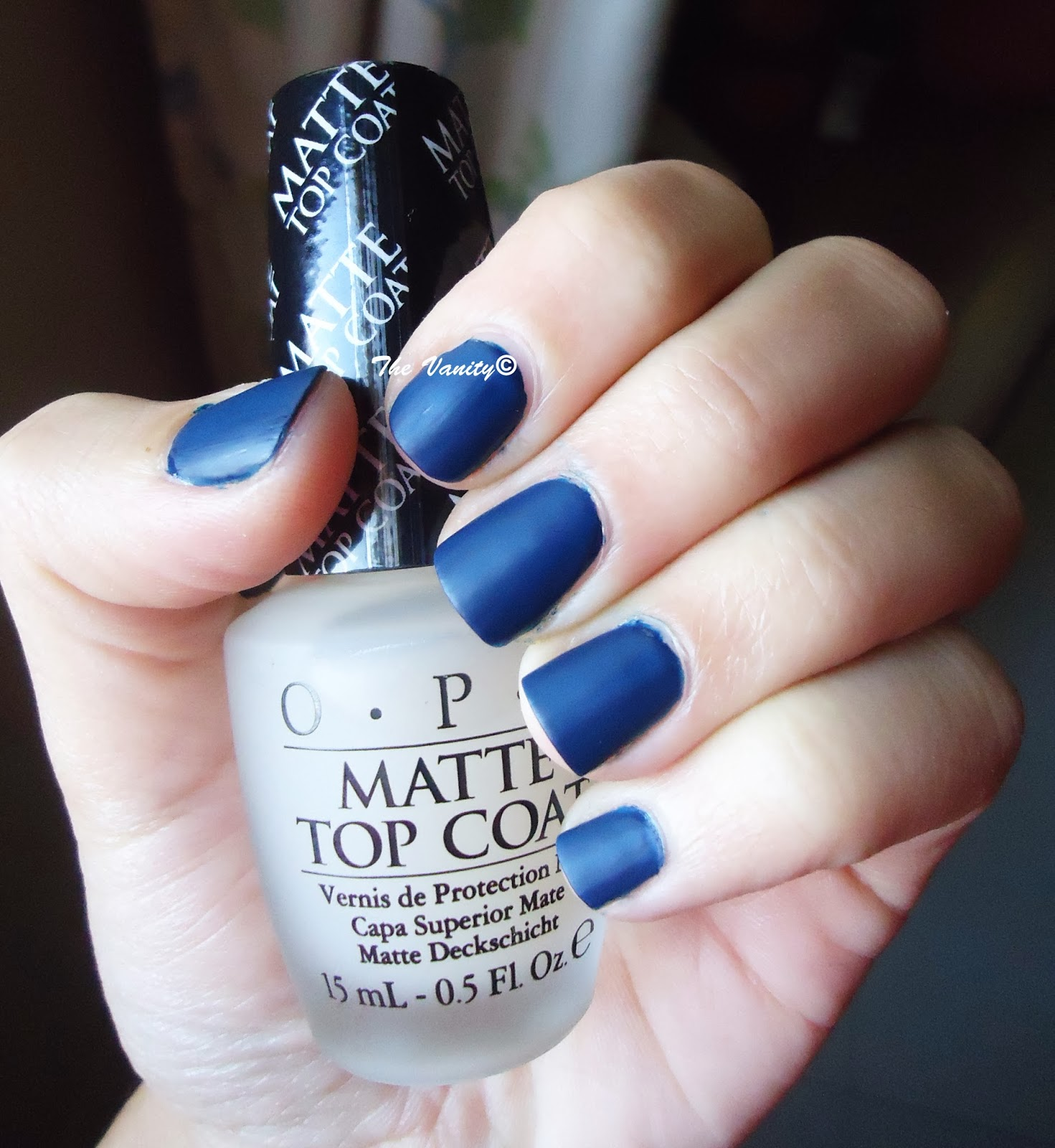 O.P.I Matte Top coat review | The Vanity