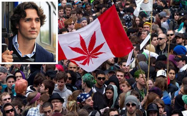 Canada Set To Legalise Weed, Renounce Religion And Reduce Guns