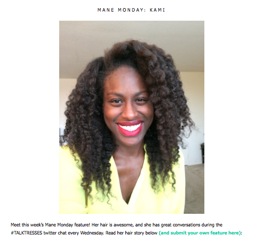 frobunni talk tresses feature