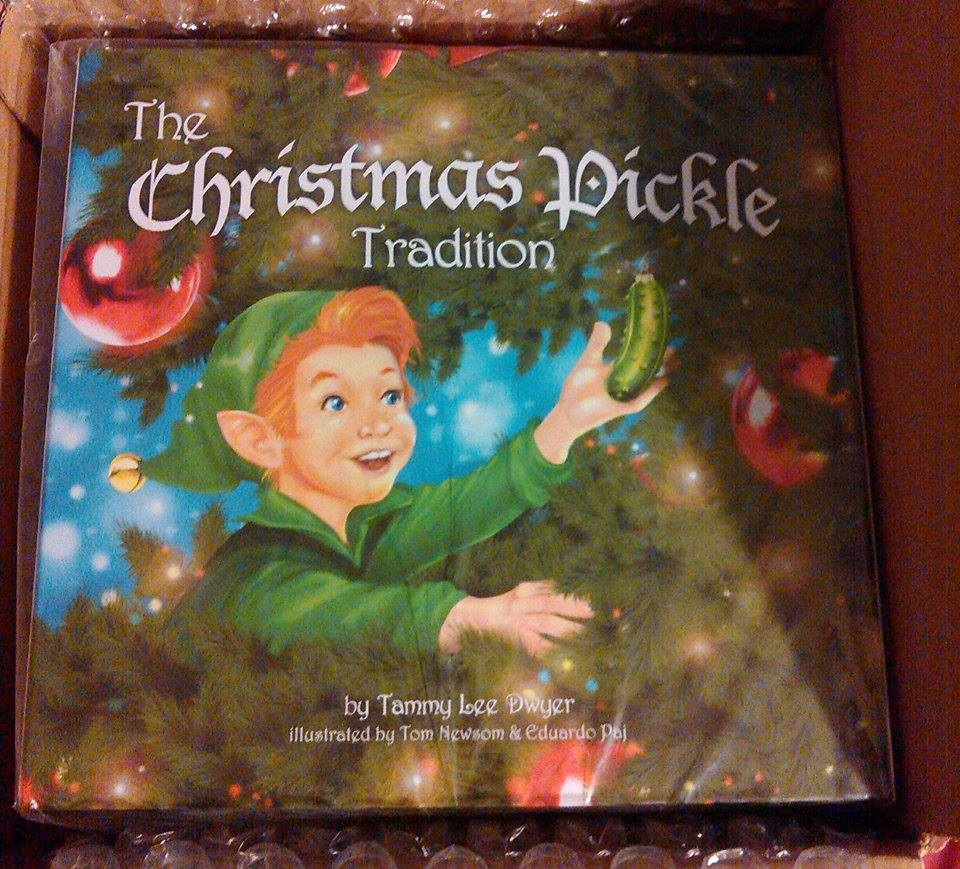 The Beautiful Gift Setes With A Glistening Pickle Ornament, Annual  Pickle Finder And The Beautiful Christmas Pickle Tradition Book In A  Readytogift