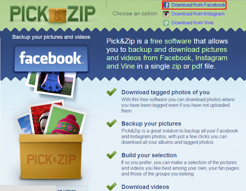 Cara Download Semua Album Foto di Facebook