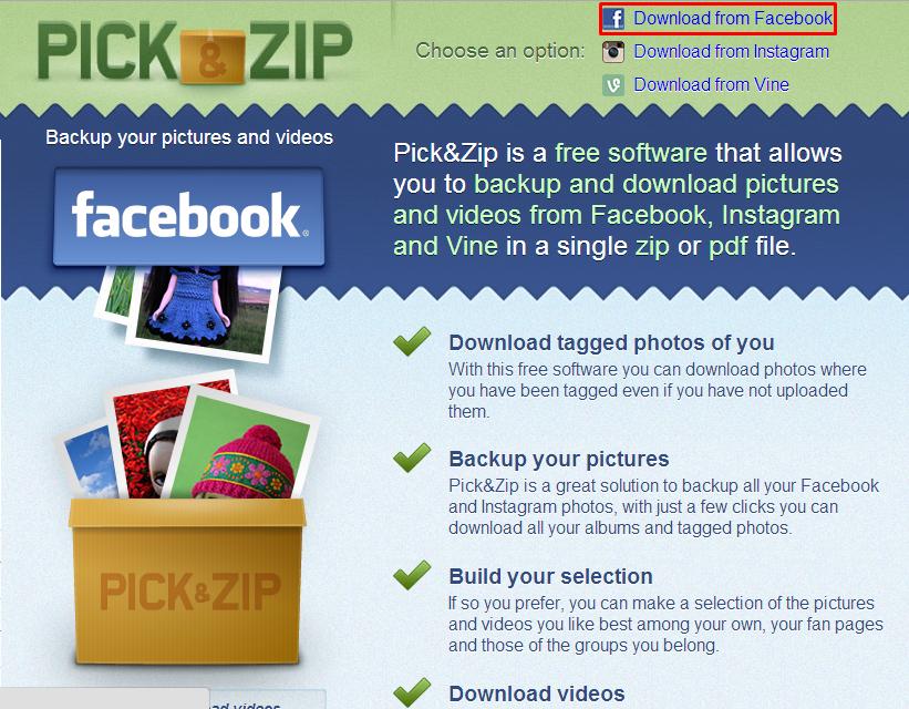 Cara Download Semua Album Foto di Facebook