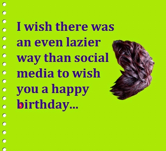 Funny Ways to Say Happy Birthday on Facebook | Words of Wisdom ...