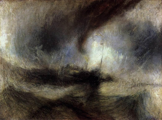 Turner, Snow storm Steam Boat off a Harbour's Mouth