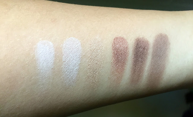 Happy Girls are Pretty palette SWATCH
